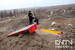 國內非法土葬兩個月後被強挖火化