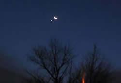 【天文】2012年6月26日天空上演【火星合月】天文現象